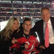 Devil's Hockey Game